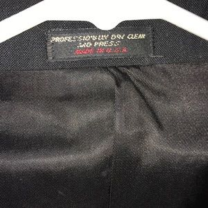 Skirts - Black Skirt Suit Size 20